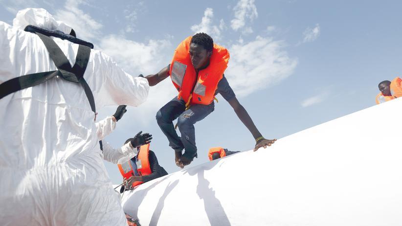 Libyen Flüchtlinge Boot