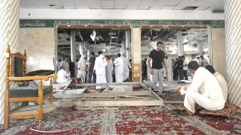 Selbstmordanschlag Moschee