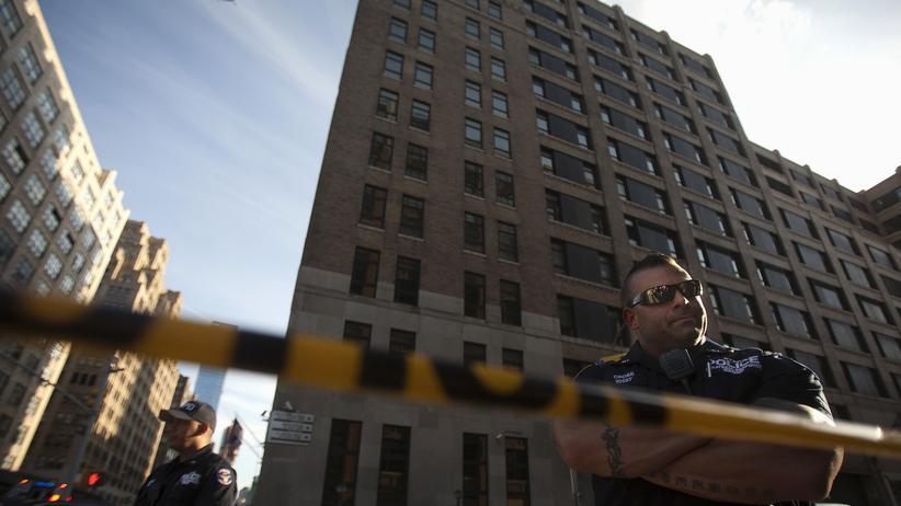 USA Zwei Tote bei Schießerei in New Yorker Amtsgebäude
