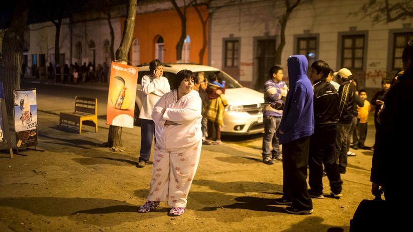 Chile: Tote nach schwerem Erdbeben vor Chiles Hauptstadt