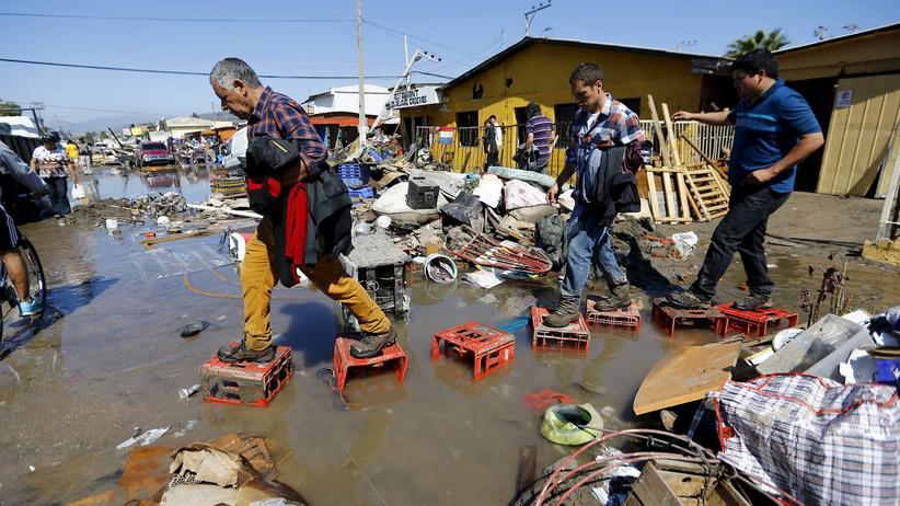 Chile: Aufräumen nach dem Beben