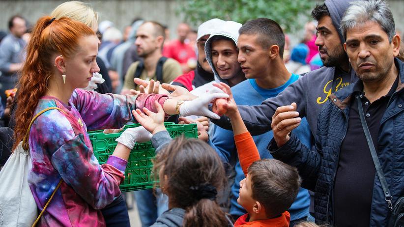 """Flüchtlinge: """"Angela Merkel? Ich kümmer mich lieber selbst"""""""