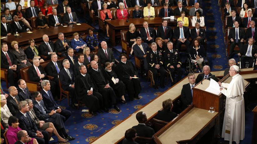 Papst Franziskus US-Kongress