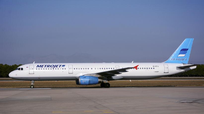 Flugzeugabsturz über Sinai