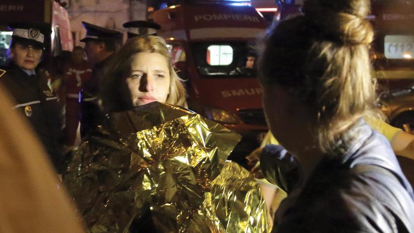 Rumänien: 27 Tote bei Brand in Nachtclub