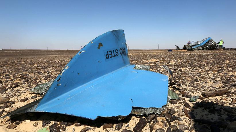 Airbus-Absturz: Wrackteil des russischen Flugzeugs bei Hassana