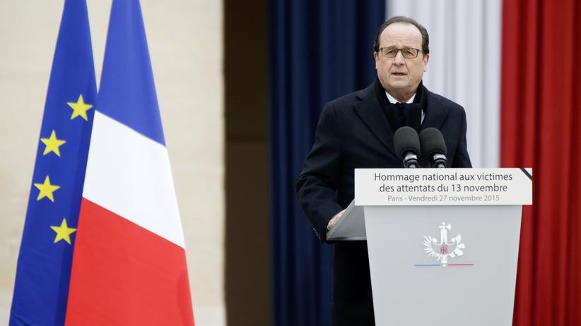 """Paris: """"Wir werden diese Armee von Fanatikern zerstören"""""""