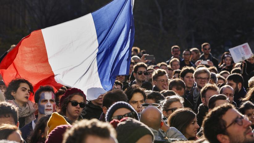 Terror in Paris: Trauer in New York