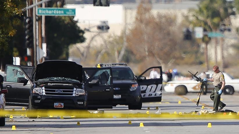 San Bernardino: Attentäter von Kalifornien galten als unauffällig