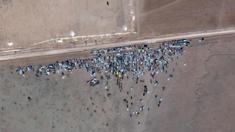 Flüchtlinge: Satellitenbilder zeigen, wie es an Syriens Grenzen wirklich aussieht
