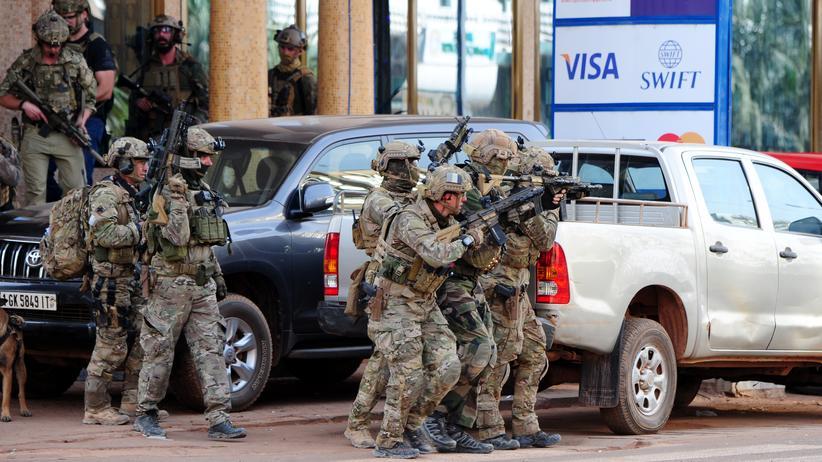 Burkina Faso: Am Anti-Terror-Einsatz in der Hauptstadt von Burkina Faso waren auch französische Soldaten beteiligt.