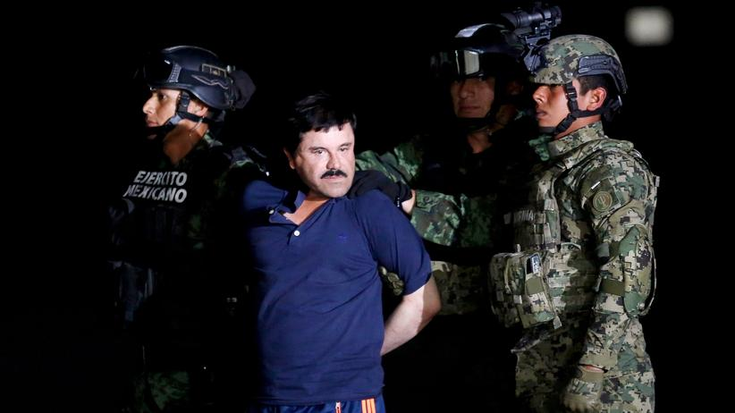 """Kartellboss: Schauspieler Sean Penn traf flüchtigen """"El Chapo"""" im Dschungel"""