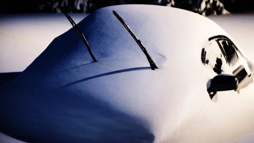 Schneesturm in den USA: Skifahren auf den Straßen New Yorks