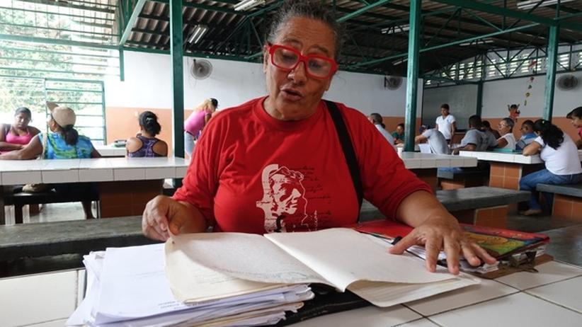 Die Parteiaktivistin Monica Myerstom hat eine Wunschliste an Projekten.