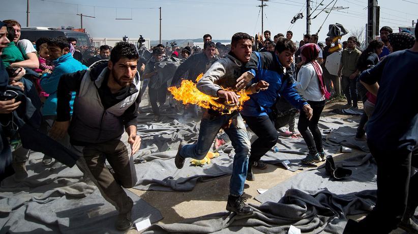 Flüchtlinge: Verzweifelt in Idomeni
