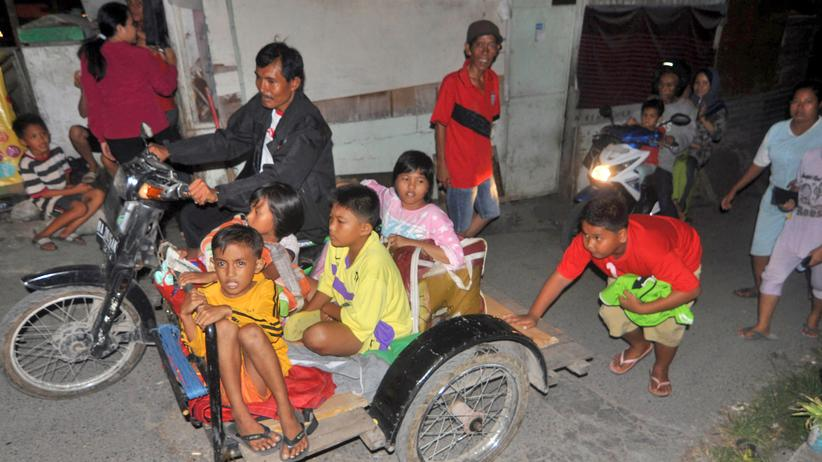 Indonesien: Indonesien liegt in einer seismologisch aktiven Zone, wo es immer wieder zu Erdbeben und Vulkanausbrüchen kommt. (Archivbild)