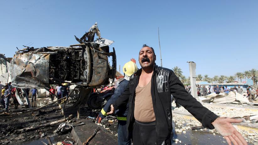 Irak: Der Anschlag in der Provinzhaupststadt Hilla war der schwerste im Irak seit Jahresbeginn.