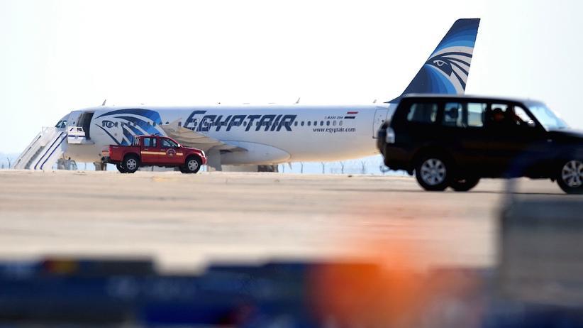 Larnaka EgyptAir Flugzeugentführung