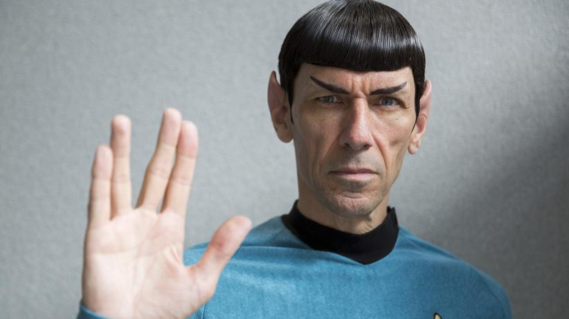 Ein Mr.-Spock-Darsteller in London