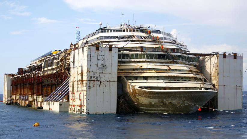 """""""Costa Concordia"""": Kapitän Schettino scheitert mit Berufung"""