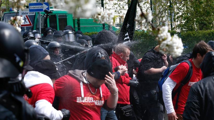 1. Mai: Festnahmen in Berlin, Verletzte in Plauen