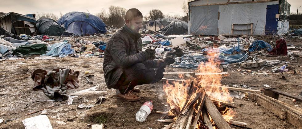 Flüchtlingscamp Zustand