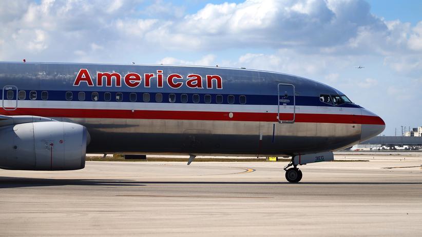 Flugzeug von American Airlines