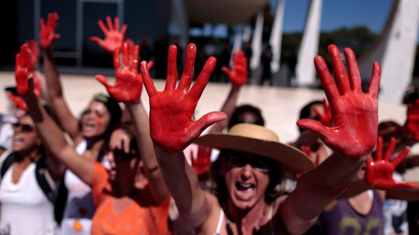 Demonstrationen in Rio