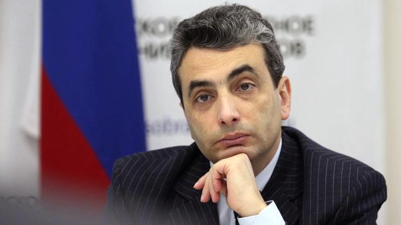 Lew Schlossberg: Der russische Oppositionspolitiker und Herausgeber Lew Schlossberg