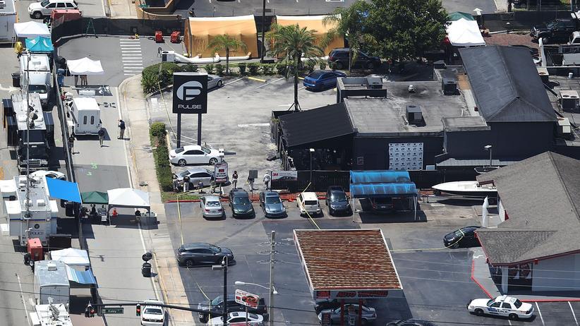 """Orlando-Attentäter: Der Club """"Pulse"""" in Orlando, in dem das Attentat verübt wurde"""