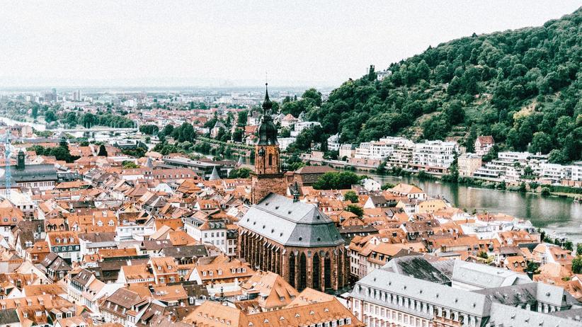 Länderranking: Über den Dächern von Heidelberg