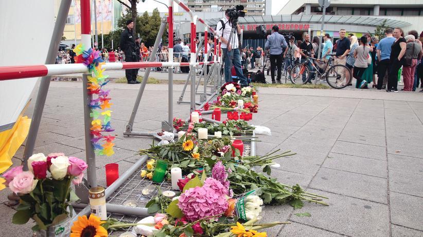 München OEZ Einkaufszentrum Blumen