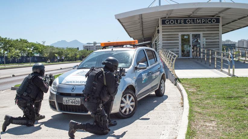 Olympische Spiele Rio Sicherheit
