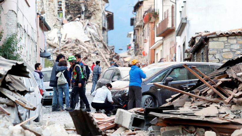 Erdbeben in Italien: Schuldige gesucht