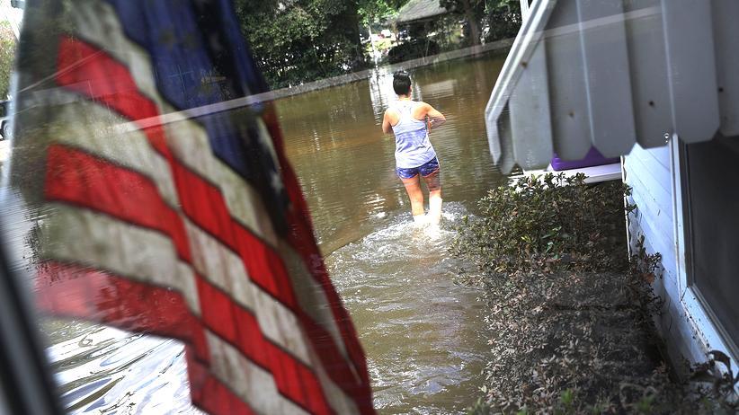 Louisiana Überschwemmung Hochwasser Flut New Orleans St. Amant