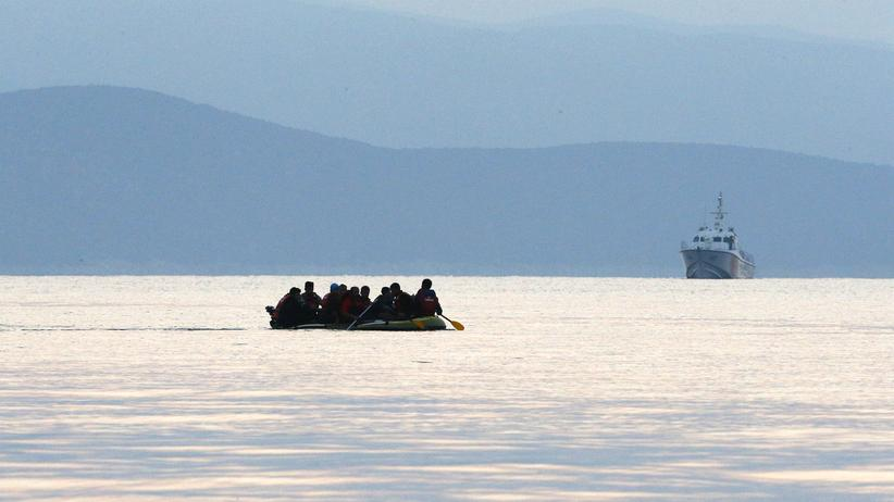 Kentern Flüchtlingsboot ägyptische Küste