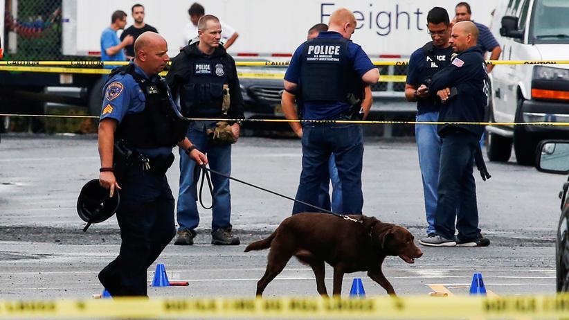 Die US-Polizei geht davon aus, dass der Verdächtige ein Einzeltäter ist.