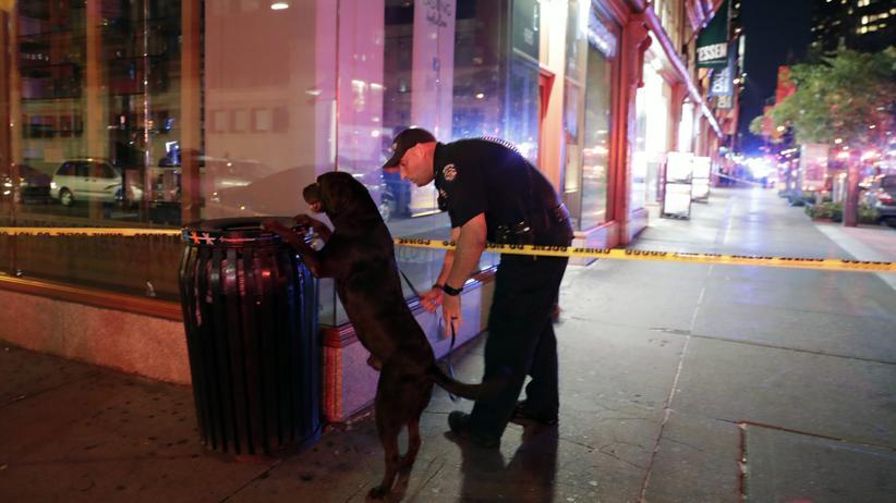 USA: 29 Verletzte bei Explosion in New York