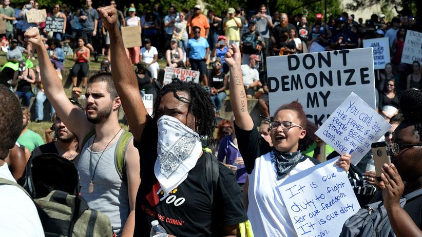 North Carolina : Polizei von Charlotte veröffentlicht Video