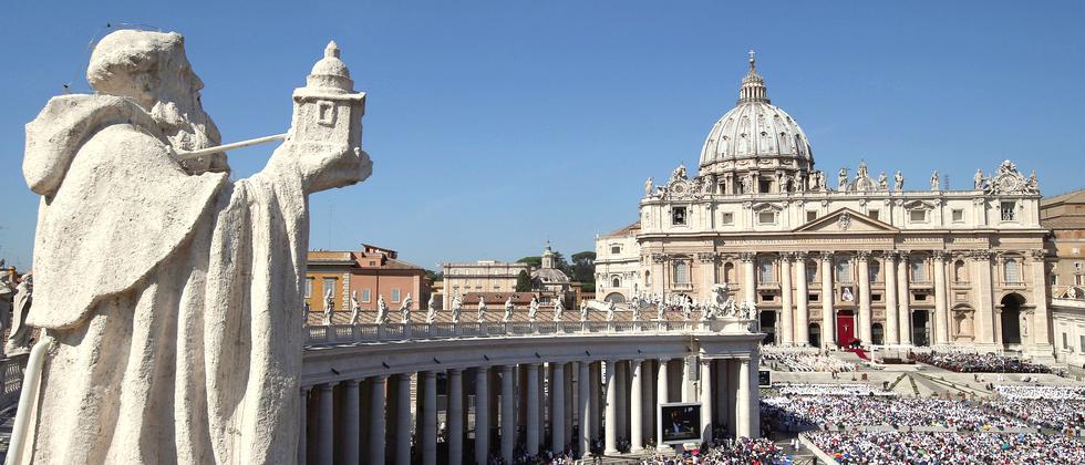 Papst Mutter Theresa Heiligsprechung Vatikan