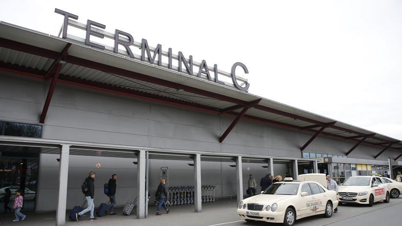 Terrorverdächtiger: Das Terminal C des Flughafens Berlin Tegel