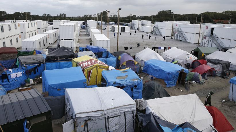 Die französische Regierung will das Flüchtlingslager in Calais schließen.