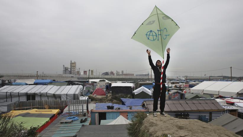 Flüchtlingscamp: Calais? Gut, hier zu sein