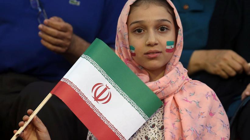 Fußball im Iran: Ein Fan der iranischen Nationalmannschaft (Archivbild)