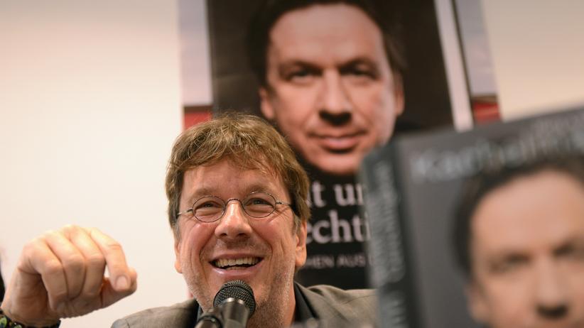 """Jörg Kachelmann: Jörg Kachelmann bei der Vorstellung seines Buchs """"Recht und Gerechtigkeit"""""""