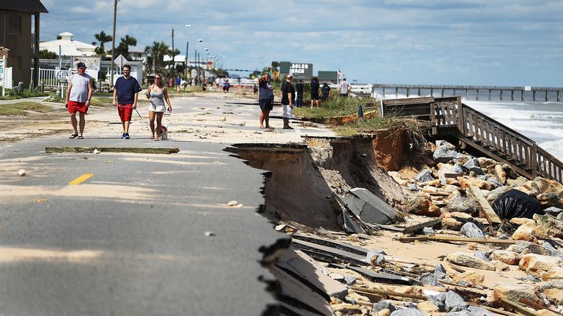 Hurrikan Matthew: Noch immer gefährlich, aber Matthew verliert an Stärke