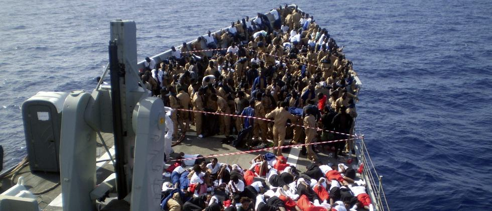 Flüchtlinge Mittelmeer Italien Libyen Küstenwache