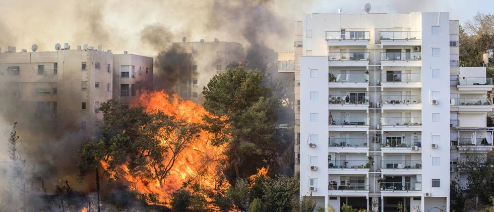 Israel Großbrände Haifa Tel Aviv