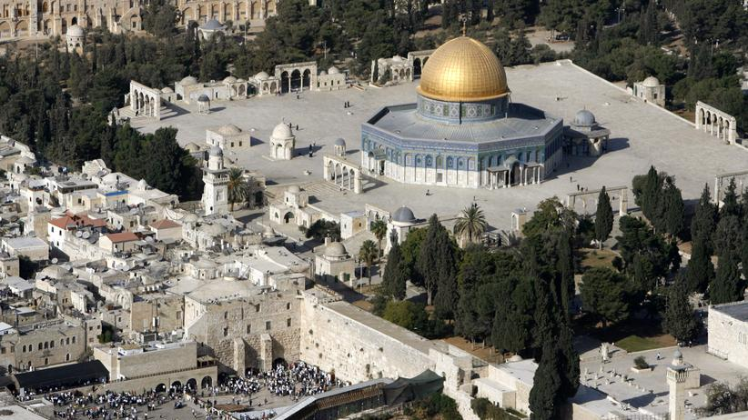 Tempelberg: Felsendom, Al-Aksa-Moschee und Al-Burak oder Tempelberg und Klagemauer?