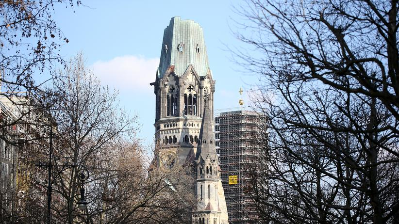 Deutsche Teilung: Die Kaiser-Wilhelm-Gedächnis-Kirche in Berlin
